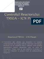 Controlul Reactorului TRIGA