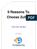 The 9 Best Reasons to Choose Zultys