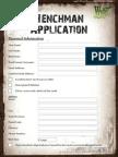 Henchman Application