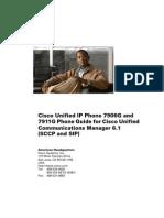 Manual Teléfono Cisco 7911G - English