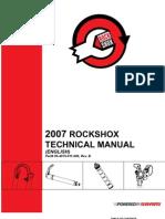 2007 RockShox Technical Manual Rev B1