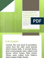Kahulugan at Kasaysayan Ng Pamamaha-Yag Sa Pilipinas