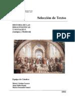 Selección de textos del pensamiento antiguo y medieval