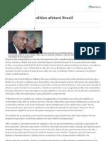 Queda de commodities afetará Brasil