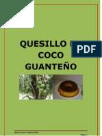 QUESILLO DE COCO GUANTEÑO