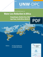 Water Loss in Africa