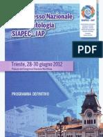 Primo Congresso Nazionale Citopatologia