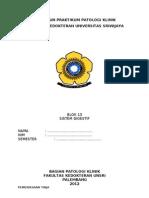 Penuntun Praktikum Patologi Klinik Blok 13