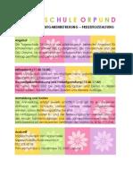 Infoblatt Tagesschule