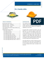 Cree XLamp X-ML Family LEDs
