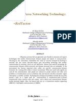 Human Area Networking- REDTACTON