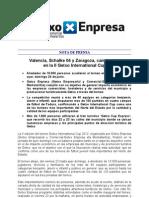 Nota de Prensa II Getxo International Cup Post