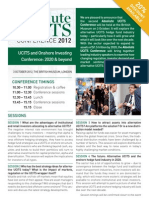 Absolute UCITS Conference Brochure