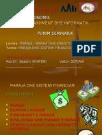 Paraja-Banka Dhe Krediti