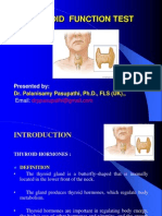0a27thyroid Function Test Ppt