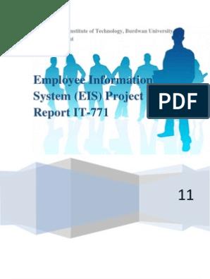 Employee Information System Documentation   Input/Output   Microsoft