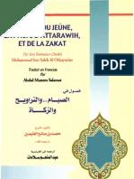 Notions du jeûne, de la prière d'attarawih et de la zakat
