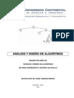II442 Análisis y diseño de algoritmos
