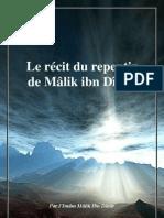 Le récit du repentir de Malik ibn dinar