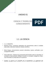 UNIDAD 01_Ciencia_Teoría_Conocim