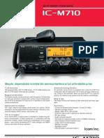 IC M710 Brochure