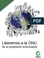 Reclama a La Onu Informe Amigos de La Tierra Internacional