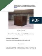 Fried Arte y Objetualidad Presytrad Escaner Cbm 2012