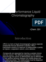 HighPerformanceLiquidChromatography.ppt