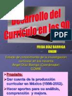 Desarrollo Del Curriculo en Los Noventa