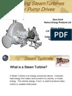 Steam Turbines for Pump Drives
