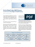 Seven Steps in the ERP Process