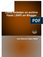Flash en Blogger