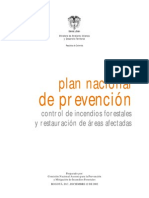 Plan Nacional Prevencion Incendios Forestales 2002