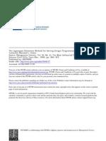 Fisher Lagrangian Paper