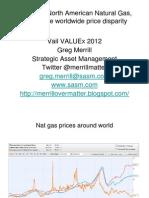 ValueXVail 2012 - Greg Merrill
