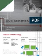 CIO IT Economic Outlook