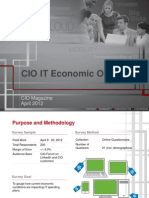 CIO IT Economic Outlook
