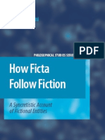 How Ficta Follow Fiction a Syncretistic Account of Fictional Entities Philosophical Studies Series Volume 105