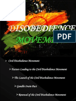 civil disobedience movement in india
