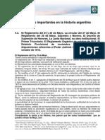 M3 L10. Algunos Hitos Importantes de La Historia Argentina
