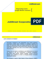 Company Overview JobStreet