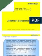 Company Overview JobStreet