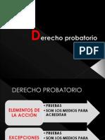 Derecho Probatorio