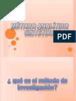 metodo analitico sintetico