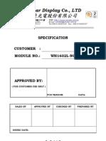 HD44780 1602 16x2 LCD Display Module