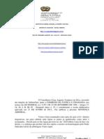 JUSTIÇA ARBITRAL SENTENÇA 129670.14.2012