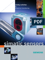 SIMATIC PX proximity switches