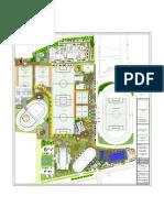 Planos Ciudadela Deportiva de Palmira. Administración Raúl Arboleda