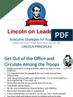 Lincoln on Leadership - Summary