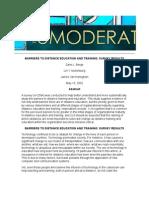 4 - Barriers to Distance Education and Training - Berge, Muilenberge & Van Haneghan (2002)